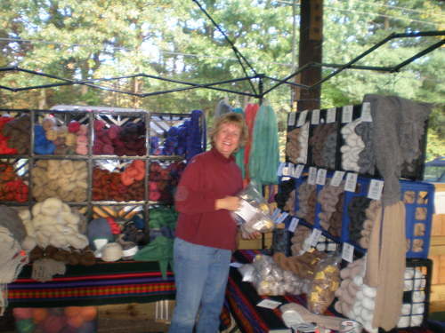 Open Market of Alpaca Products from Our Farm