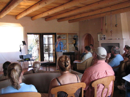 Our 2006 seminar on herd management and alpaca health.