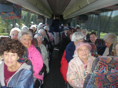 Senior Group Mystery Tour Stop