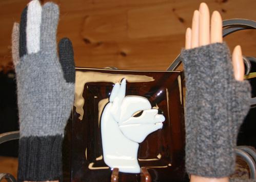 Many styles of handwear