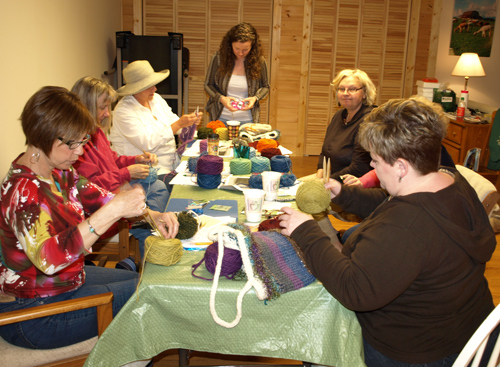 Workshop for fiber artists