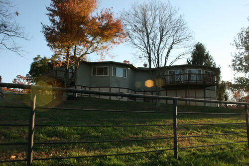 Our Home Overlooking Our Alpacas