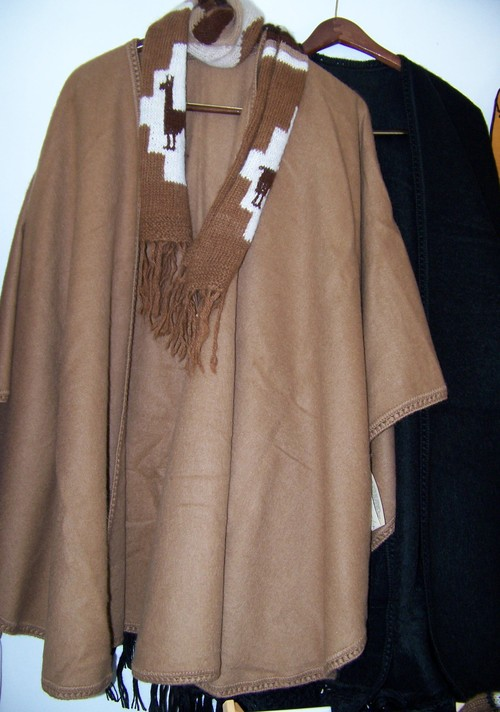 Ruanas/Capes in all colors and styles