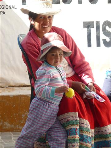 Quechua Woman and Child