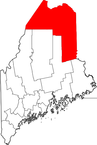 Aroostook County in Maine