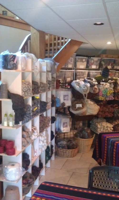 Natural Yarn Blends & More in Our Farm Store