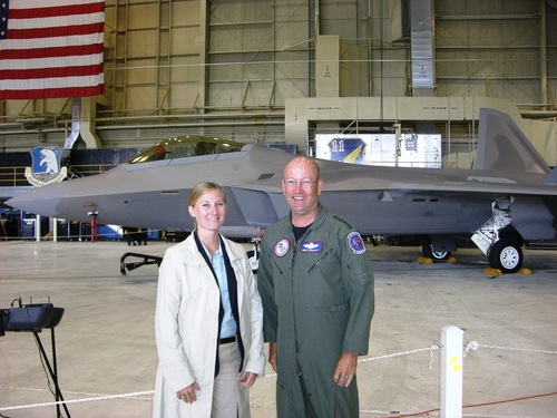 With Gen Renuart in Alaska
