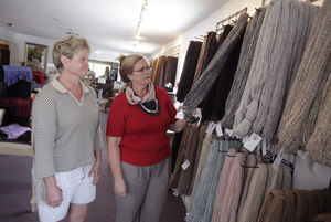 Alpaca yarn spins into new business