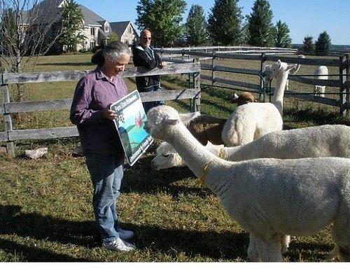 Pohopoco Creek Alpaca Farm recognized for environmental stewardship