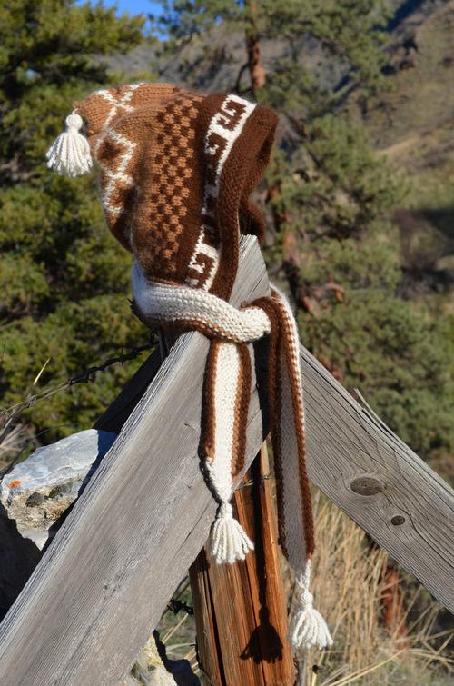 Knitted Peruvian Hat
