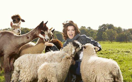 Natasha Kaplinsky: 'My alpacas are the best form of stress relief'