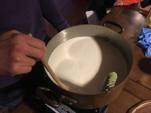 Stirring the Milk