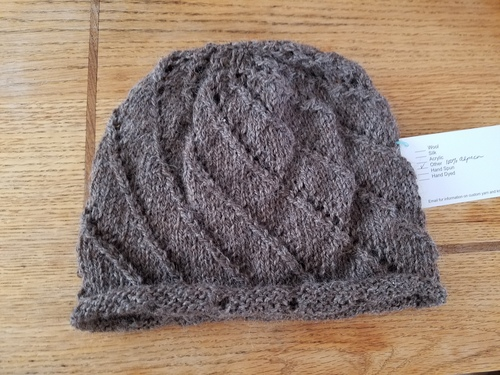 Hand Knitted Alpaca Hat
