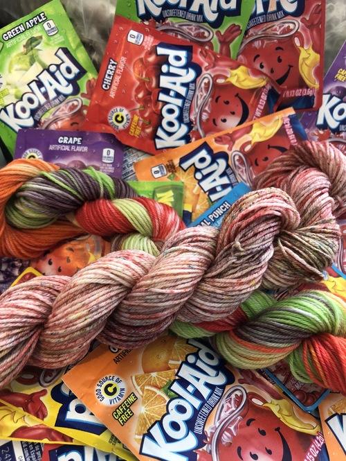 March 17th, Family Friendly Yarn Dyeing