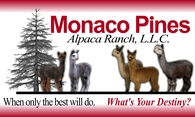 Monaco Pines Alpaca Ranch, LLC - Logo