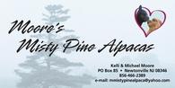 Moore's Misty Pine Alpaca's - Logo