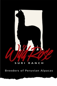Wild Rose Suri Ranch - Logo