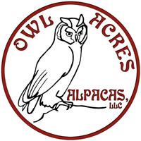 OWL Acres Alpacas, LLC - Logo