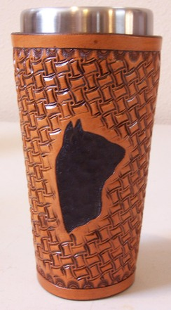 Photo of Leather Art - Alpaca Coffee Carafe