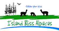 Island Bliss Alpacas - Logo