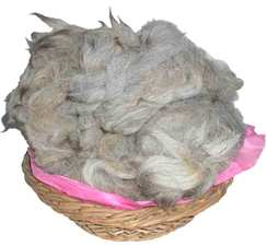 Photo of Joie d'Argent Natural Silver Grey Alpaca