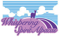 Whispering Spirit Alpacas - Logo