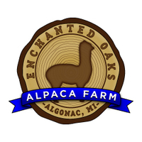 Enchanted Oaks Alpaca Farm - Logo