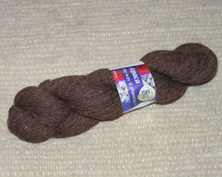 Photo of Natural Rose Grey Fine Sport 4ply Yarn