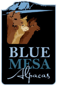 Blue Mesa Alpacas LLC. - Logo