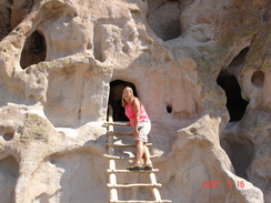 Bandelier National Monument where ancient history can be explored!