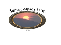 Sunset Alpaca Farm - Logo