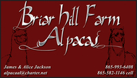 Briar Hill Farm Alpacas - Logo