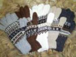 Photo of Adult 100% Alpaca Fingerless Gloves