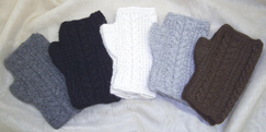 Photo of Handknit Fingerless Gloves