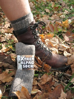 Photo of Extreme Alpaca Socks