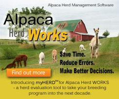 Photo of Alpaca Herd WORKS Software