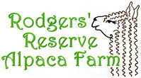 Rodgers' Reserve Alpaca Farm - Logo