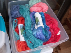 Photo of 100% Mill Spun Suri Dyed Yarn