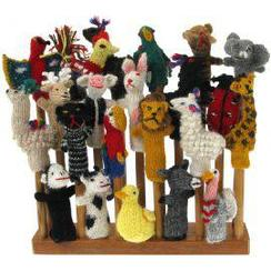 Photo of Alpaca Finger Puppets