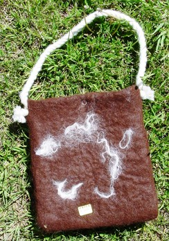 Photo of Purse-Felted Alpaca