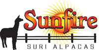 Sunfire Suri Alpacas - Logo