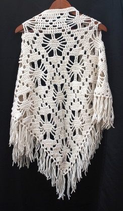 Photo of White Diamond Shawl