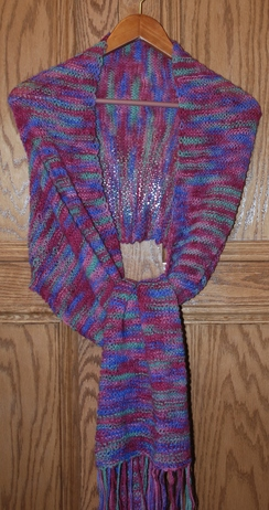 Photo of Multi colored Shawl - Spring colors