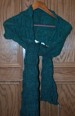 Photo of Green Scarf
