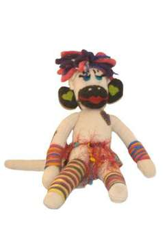 Photo of Hawaiian Sock Monkey