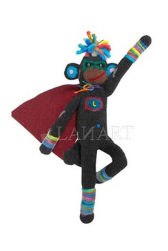 Photo of Super Sock Monkey