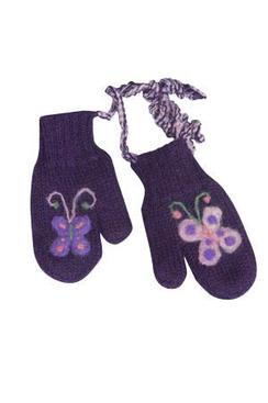Photo of Lanart Kid's Felted Butterfly Mittens