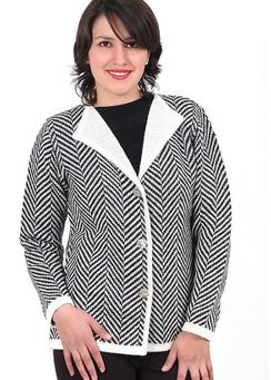 Photo of Classic Alpaca Zebra Cardigan