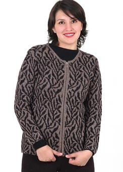 Photo of Classic Alpaca Inge Zippered Cardigan