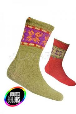 Photo of Lanart Ladies Reversible Socks Knitted